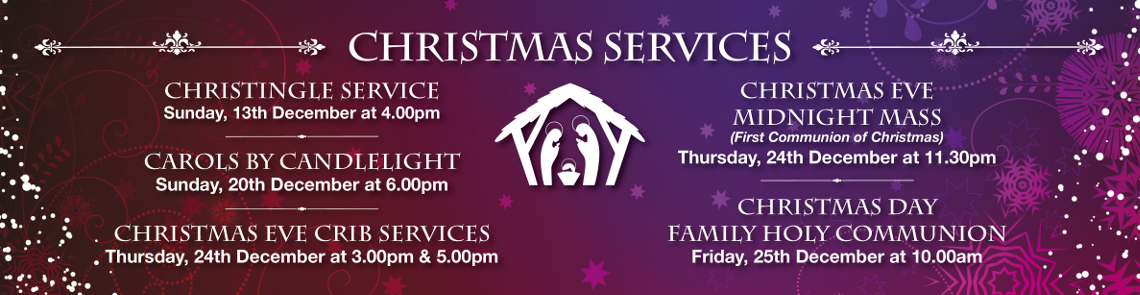 Christmas Services Banner 15