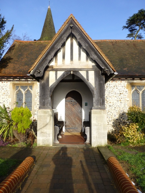 St Mary the Virgin Chessington - Front Porch 1