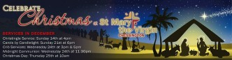 banner image of church christmas at saint marys