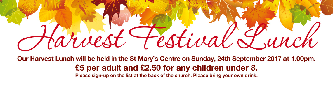 Harvest Lunch Banner 17