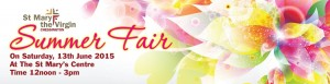 Summer Fair on Saturday 13th JJune 2015