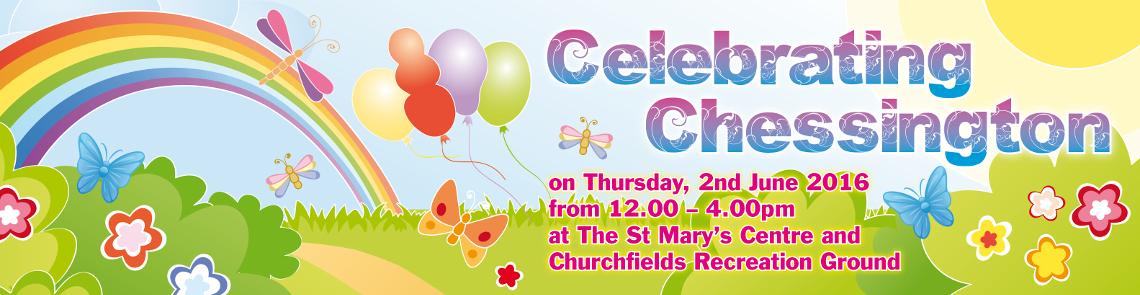 Celebrating Chessington Banner