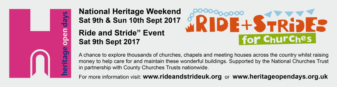 Heritage Ride and Stride Banner 17