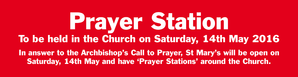 Prayer Station Banner