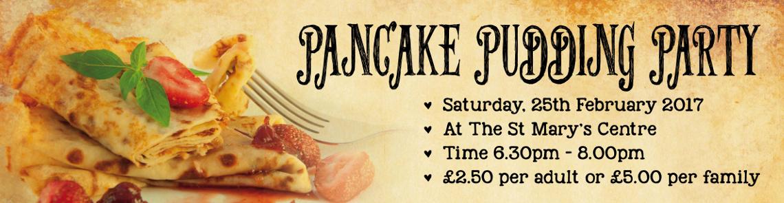 Pancake Pudding Party Banner 17