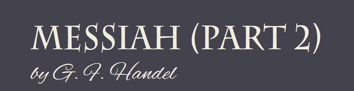 Messiah (Part 2) Banner